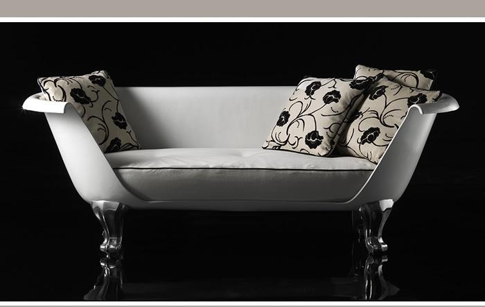 "Remember The Clawfoot Bathtub / Sofa From ""Breakfast At Tiffany's With Clawfoot Tub Sofas (Image 16 of 20)"