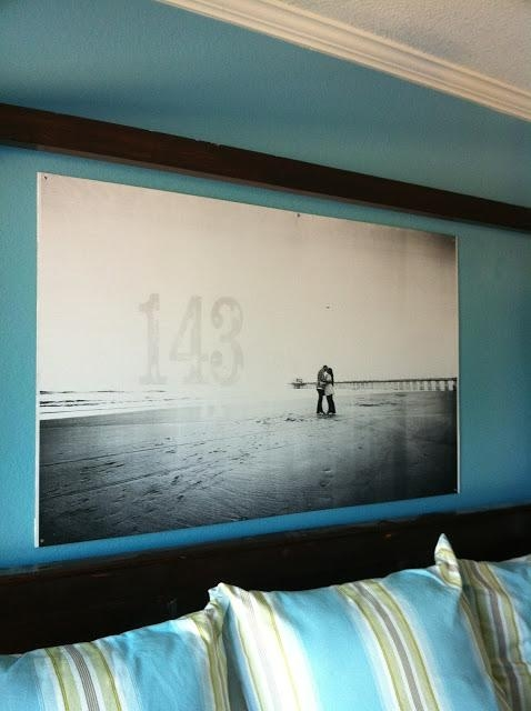 Remodelaholic | 60 Budget Friendly Diy Large Wall Decor Ideas For Large Inexpensive Wall Art (Image 13 of 20)