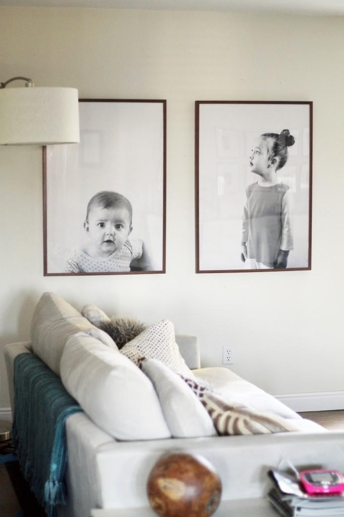 Remodelaholic | 60 Budget Friendly Diy Large Wall Decor Ideas Inside Large Inexpensive Wall Art (Image 15 of 20)