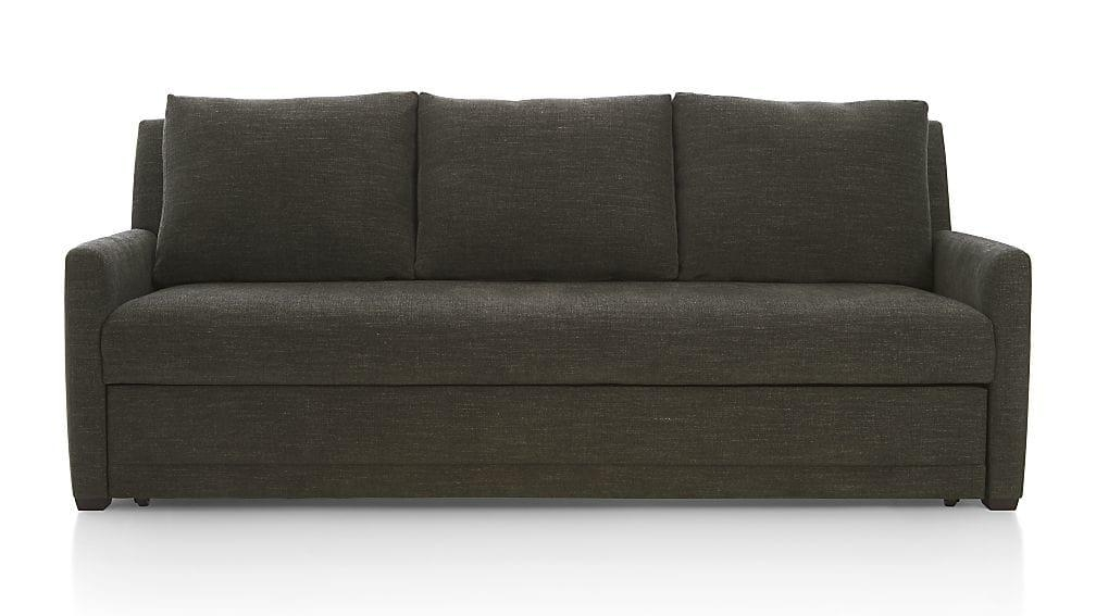 Reston Full Sleeper Sofa | Crate And Barrel With Regard To Crate And Barrel Sofa Sleepers (Image 15 of 20)