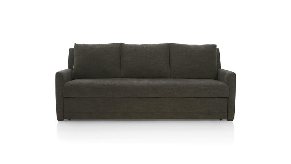 Reston Full Sleeper Sofa | Crate And Barrel Within Crate And Barrel Sofa Sleepers (Image 16 of 20)