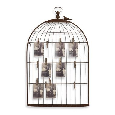 Restoration Hardware Baby And Child Bird Cage Wall Art Look 4 Less Intended For Metal Birdcage Wall Art (View 6 of 20)