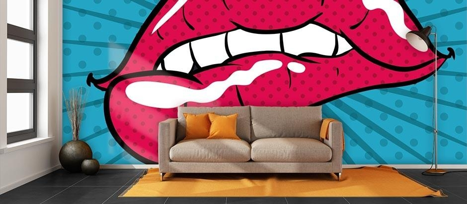 Featured Image of Pop Art Wallpaper For Walls