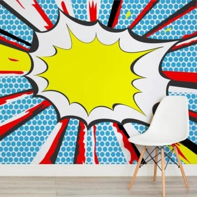 Retro Wallpaper & Wall Murals | Murals Wallpaper Regarding Pop Art Wallpaper For Walls (View 7 of 20)