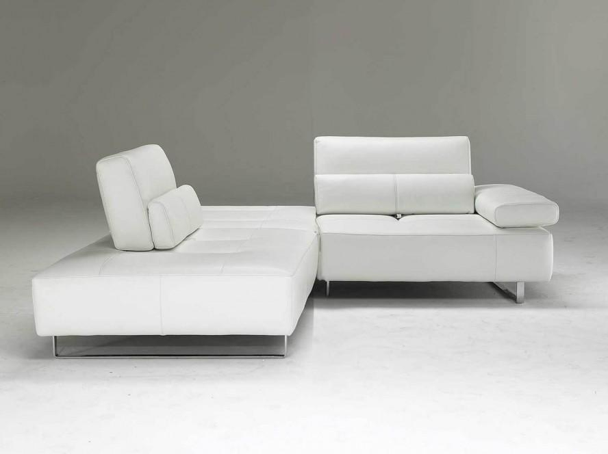 Reversible White Small Sectional Sofa With Chaise – S3Net In Modern Small Sectional Sofas (View 1 of 20)