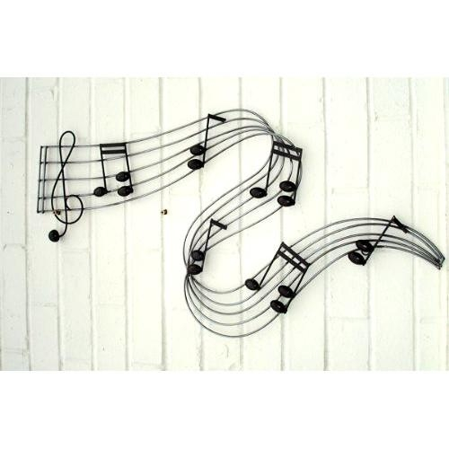 River Of Music Notes Wall Art | Ebay For Music Note Wall Art (Image 18 of 20)