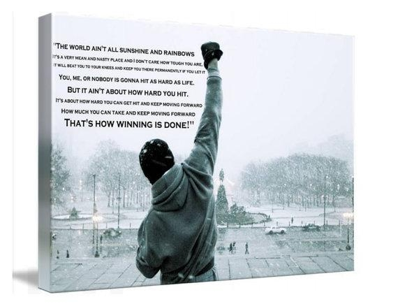 Featured Image of Rocky Balboa Wall Art