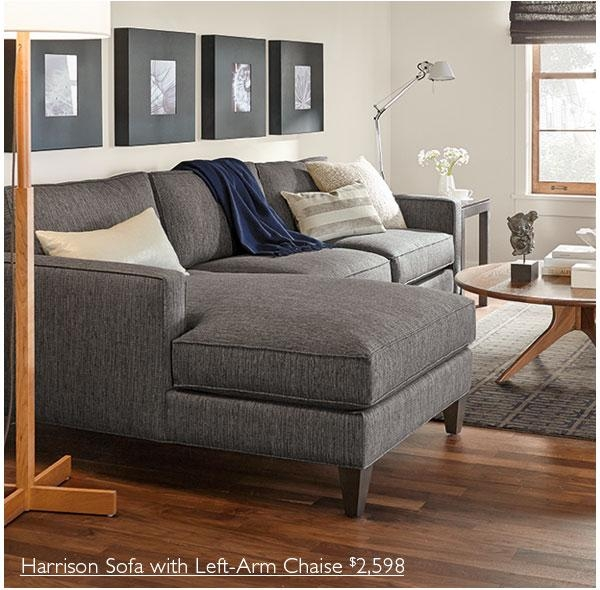 Room & Board: New Harrison Sofa Collection | Milled In Harrison Sofas (Image 15 of 20)