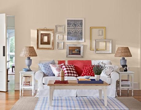 Room Makeover – American Country Room Design Regarding Country Style Wall Art (Image 17 of 20)