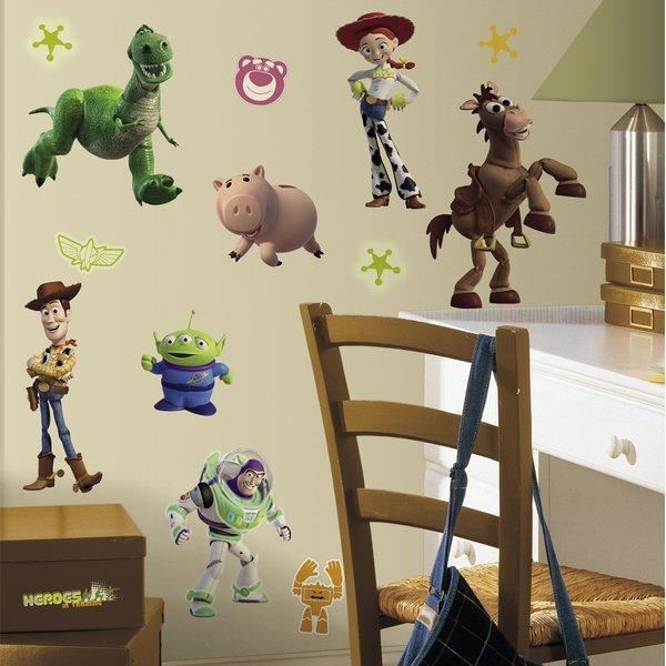 Room Mates Toy Story Wall Decal & Reviews | Wayfair Throughout Toy Story Wall Art (View 17 of 20)
