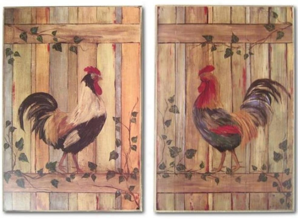 Rooster Wall Decor Metal | Design Ideas And Decor Regarding Metal Rooster Wall Decor (Image 14 of 20)