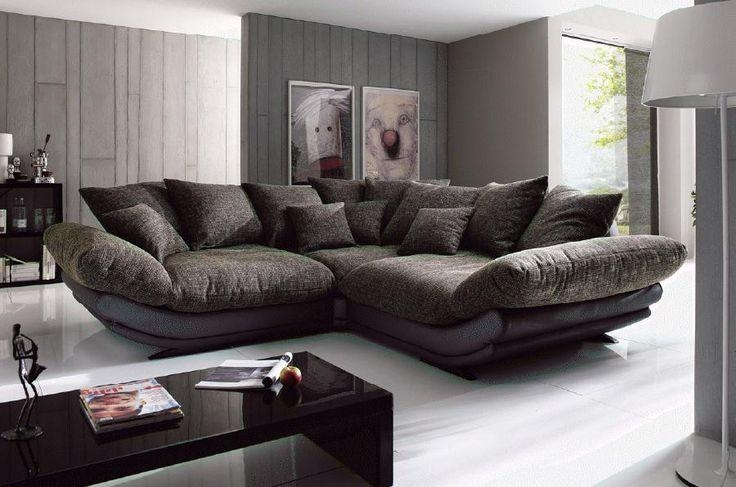 Rose Mega Sofa Couch Polstergarnitur Vorschlag 1 Von New Look With Regard To Big Comfy Sofas (Image 19 of 20)