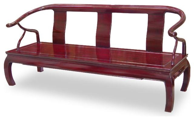 Rosewood Chow Leg Couch – Asian – Sofas China Furniture And Arts Within Asian Sofas (Photo 8 of 20)