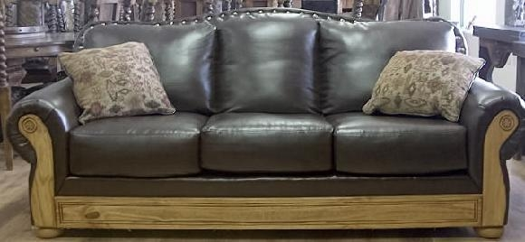 Rustic Furniture Depot – Home With Bomber Leather Sofas (Image 17 of 20)