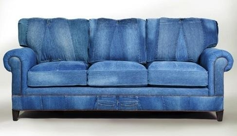 Rustic Maple: I {Heart} Denim Inside Blue Denim Sofas (View 16 of 20)