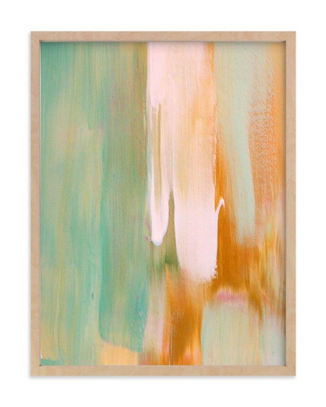 Rusty Patina Wall Art Printsartsy Canvas Girl Designs | Minted For Turquoise And Brown Wall Art (Image 15 of 20)