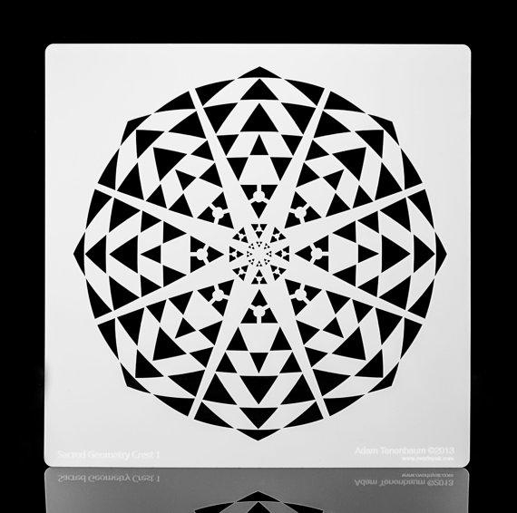 Sacred Geometry Kaleidoscope (View 16 of 20)