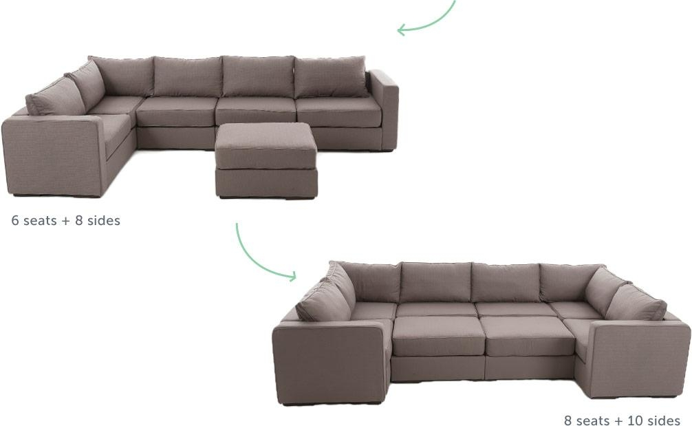 Sactionals | Love In Furniture Form With Lovesac Sofas (View 7 of 20)