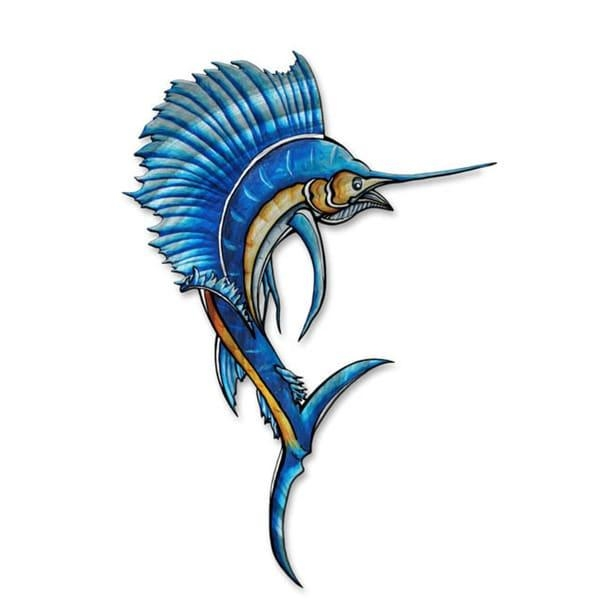 Sailfish' Megan Duncanson Metal Wall Art – Free Shipping Today Regarding Megan Duncanson Metal Wall Art (Image 18 of 20)
