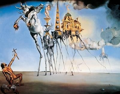 Featured Image of Salvador Dali Wall Art