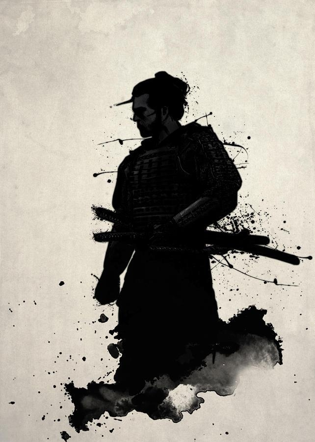 Samurai Paintingnicklas Gustafsson Intended For Samurai Wall Art (Image 14 of 20)