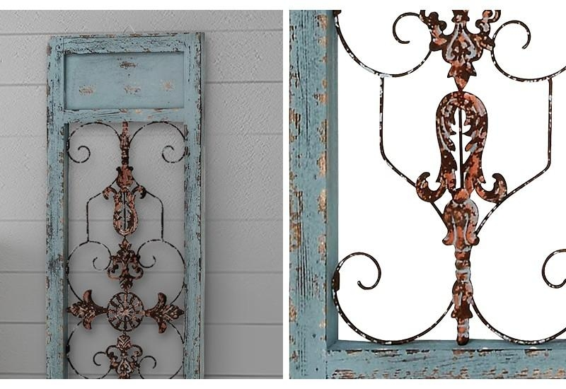 Sconce, Farmhouse Decor, Rustic Wall Sconce, Wall Decor, Wall Art In Country Metal Wall Art (View 20 of 20)