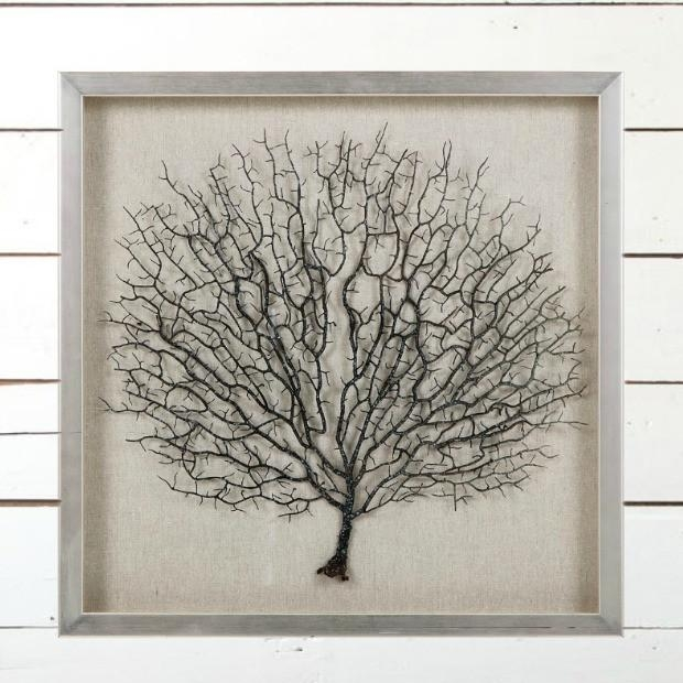 "Sea Fan Coral"" Framed Wall Art 