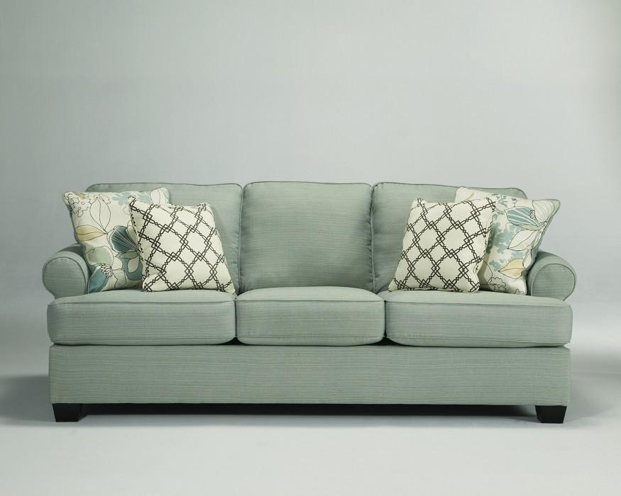 Sea Foam Green Sofa, Loveseat, Chair & Ottoman – Sam Levitz Furniture With Seafoam Green Sofas (Image 10 of 20)