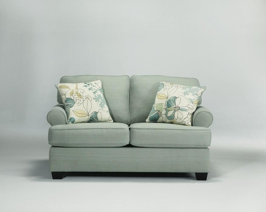 Sea Foam Green Sofa, Loveseat, Chair & Ottoman – Sam Levitz Furniture Within Seafoam Green Sofas (Image 11 of 20)