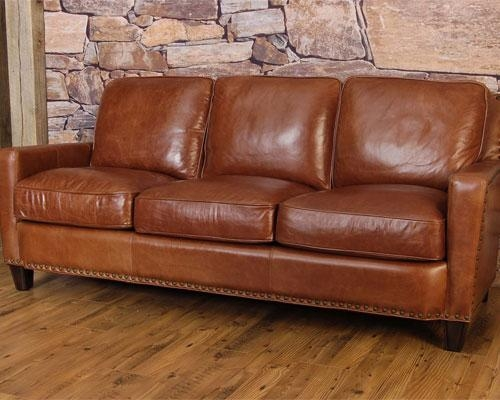 Sealy Leather Sofa – Sealy Brown Leather Sofa, Sealy Leather Sofa With Regard To Sealy Sofas (Image 9 of 20)