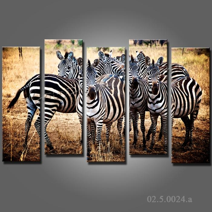 Search On Aliexpressimage Within Zebra Wall Art Canvas (View 3 of 20)