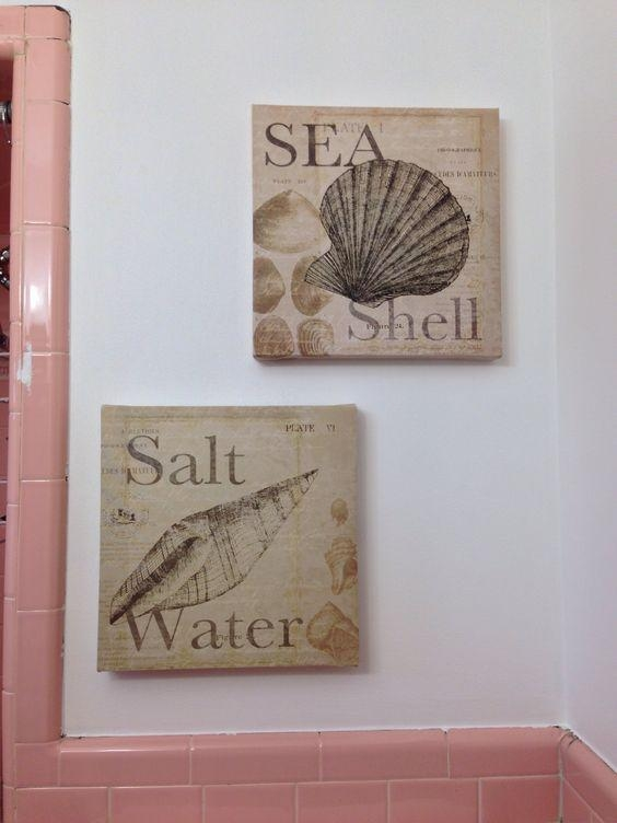 Seashell Canvas Wall Art From Burlington Coat Factory – $ (Image 15 of 20)