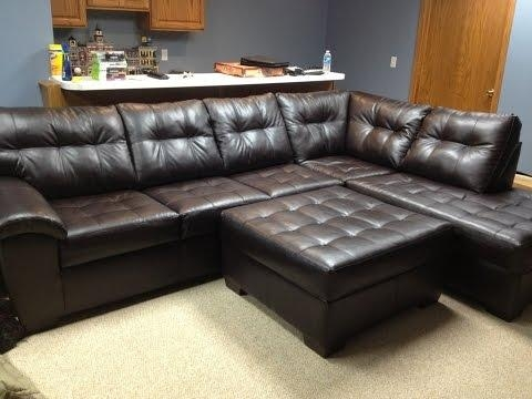Sectional Couches Big Lots – Youtube Intended For Big Lots Simmons Sectional Sofas (Image 17 of 20)