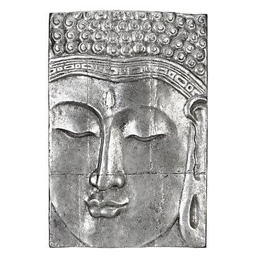 Serenity Buddha Panel | Wall Decor | Z Gallerie With Regard To Silver Buddha Wall Art (View 6 of 20)