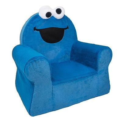 Sesame Street Flip Open Sofa – Cookie Monster | What's It Worth For Elmo Flip Open Sofas (Image 20 of 20)