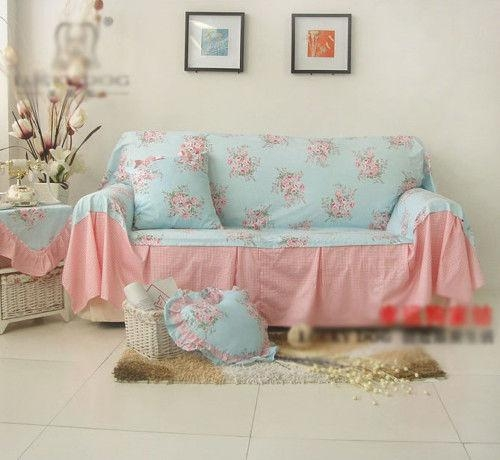 Shabby Chic Collection On Ebay! With Shabby Chic Sofa Slipcovers (Image 7 of 20)