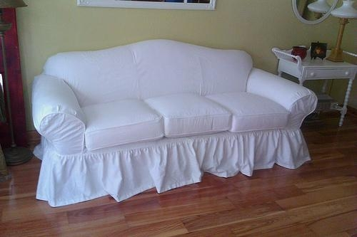 Shabby Chic Slipcovers For Loveseats (Image 15 of 20)