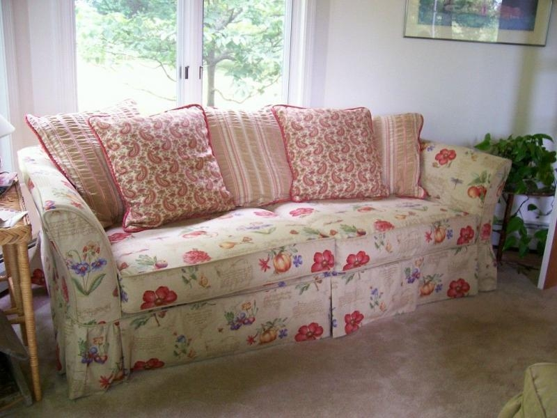 Shabby Chic Slipcovers | Home Design Styles Inside Shabby Chic Sofas Covers (View 7 of 20)