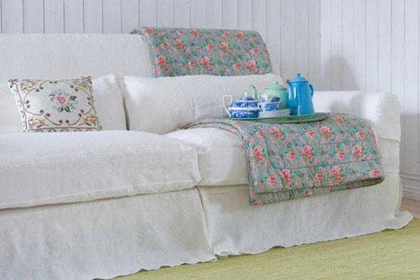 Shabby Chic Slipcovers | Home Design Styles Regarding Shabby Chic Sofas Covers (View 11 of 20)