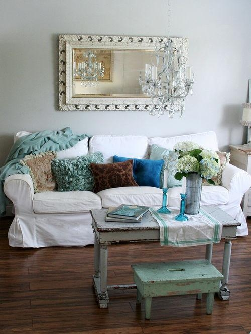Shabby Chic Slipcovers | Houzz With Shabby Chic Slipcovers (Image 12 of 20)