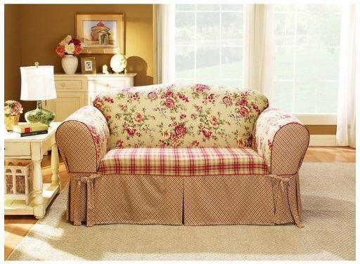 Shabby Chic Sofa Slipcovers – Sofa A Inside Shabby Chic Sofa Slipcovers (Image 16 of 20)