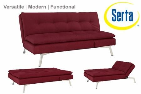 Shelby Sofa Sleeper | Shelby Futon | The Futon Shop With Regard To Convertible Futon Sofa Beds (Image 20 of 20)