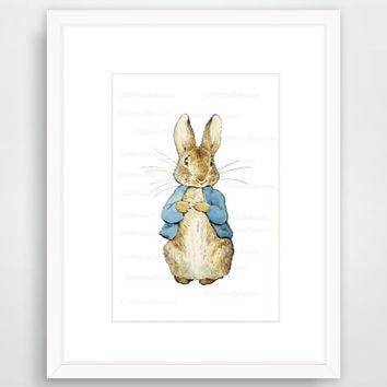 Shop Beatrix Potter Peter Rabbit Nursery On Wanelo Inside Peter Rabbit Wall Art (Image 18 of 20)
