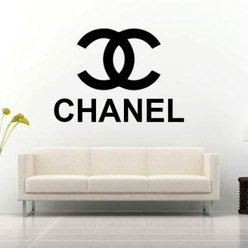 Shop Chanel Decal On Wanelo Intended For Coco Chanel Wall Decals (Image 16 of 20)