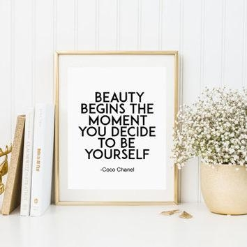Shop Coco Chanel Home Decor On Wanelo With Regard To Coco Chanel Quotes Framed Wall Art (View 18 of 20)