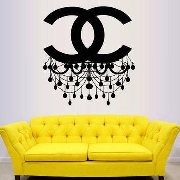 Featured Image of Coco Chanel Wall Stickers