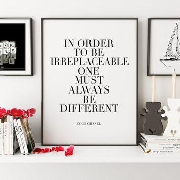 Shop Coco Chanel Wall Decor On Wanelo With Regard To Chanel Wall Decor (View 8 of 20)