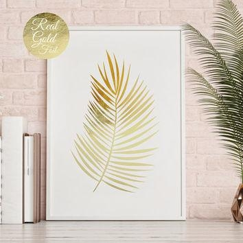 Shop Gold Leaf Wall Art On Wanelo With Palm Leaf Wall Decor (Image 15 of 20)