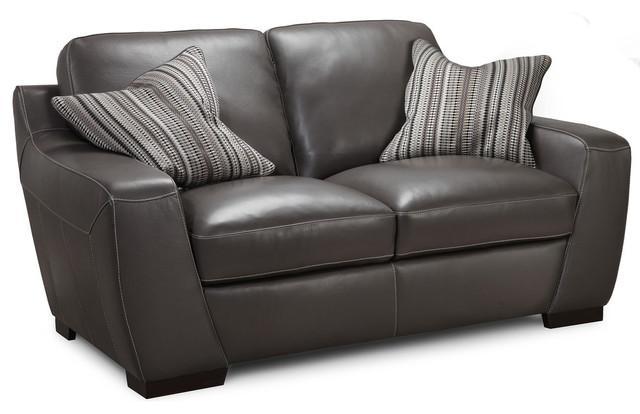 Shop Houzz | Simon Li Furniture Simon Li Leather Loveseat – Loveseats Pertaining To Simon Li Loveseats (Image 8 of 20)