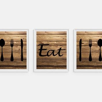 Shop Kitchen Wall Art Sets On Wanelo With Regard To Kitchen Wall Art Sets (Image 18 of 20)